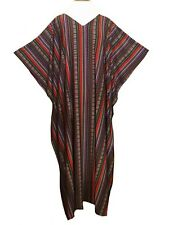 Ladies polyester Viscose /Jersey printed stretch soft Kaftan/beach dresses 10-32