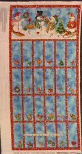 "Less than 45"" Panels Holiday/Christmas Craft Fabrics"