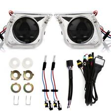 3'' Car Bi-Xenon HID Projector Lens Kit HI/LOW Light with Angel Eye For H1 H4 H7