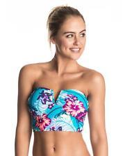 Size XS Womens Roxy LINE IT UP V NECK BUSTIA BIKINI Top Swimwear Top