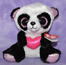 "TY  Beanie Boo Boo's CUTIE PIE the Bear Panda 6"" 2015 ~NWNMT~  FAST SHIP BOX #1"