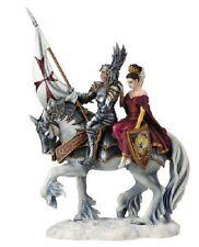 "13.75"" FAITH By Ruth Thompson Statue Templar Knight & Princess Sculpture Figure"