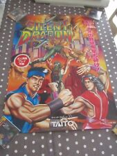 >> SILENT DRAGON TAITO JAPAN ARCADE B1 SIZE OFFICIAL POSTER! <<