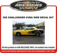 Dodge Challenger 392 Side Cuda Stripe Graphic  2011 2012 2013 2014