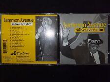 CD MILWAUKEE SLIM / LEMMON AVENUE /