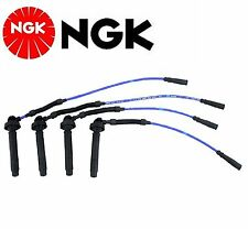 NGK Spark Plug Ignition Wire Set For Subaru Forester H4 2.5L 2001-2004