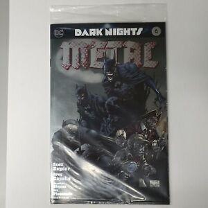Dark Nights Metal 6 C2E2 Silver Foil Jim Lee Variant DC Comics SEALED IN BAG NEW