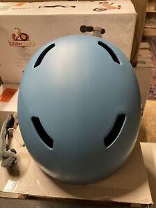 ! Giro Ledge FS MIPS Womens Small Snowboarding Ski Helmet Matte Powder Blue
