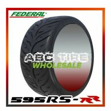 2 x Federal 595RS-RR 245/40ZR19 98W Extreme High Performance Racing Summer Tire