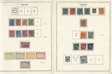 Venezuela Collection 1859-1972 on 124 One Sided Minkus Specialty Pages