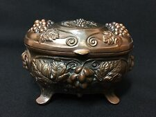 Vintage! Beautifully Detailed Decorative Footed Music Box Not Working