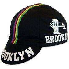 BROOKLYN WCS RETRO CYCLING TEAM CAP - VINTAGE - Black World Champion Stripe