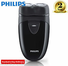 Philips PQ203 Battery Operated Travel Cordless Mens Shaver - Black