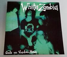 "7"" White Zombie Gods on Voodoo Moon 45 giri"