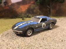1971 Chevy Corvette Custom Weathered Dusty Barn Find 1/64 Diecast Car Junker