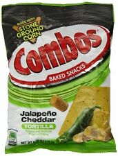 Combos Jalapeno Cheddar Tortila PRETZEL 178g  (American Snack) PACK OF 2