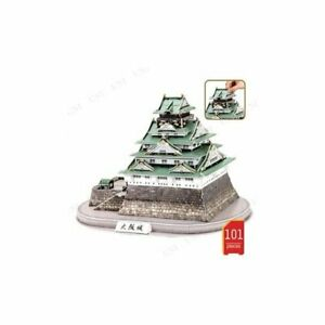 CubicFun MC175h 101 Piece 3D Puzzle Osaka Castle Japan