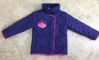 Dora The Explorer Girls Age 2 - 3 Years Purple Coat Jacket Padded