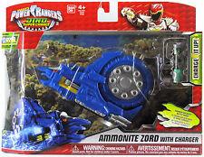 POWER RANGERS DINO SUPER CHARGE AMMONITE ZORD GURUMONITE GATLING GUN BLUE 2015