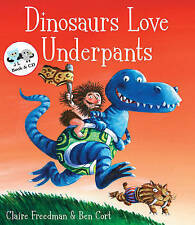 Dinosaurs Love Underpants by Claire Freedman book and floor jigsaw