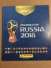 2018 PANINI FIFA WORLD CUP HARDCOVER ALBUM EMPTY USA EDITION