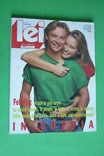 LEI GLAMOUR 141/1989 ESTELLE LEFEBURE DAVID HALLYDAY GIOELE DIX JAMES CALDERARO