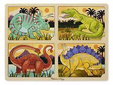 Melissa & Doug 4-in-1 Dinosaur Jigsaw Puzzle #9365 BRAND NEW