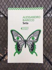 Seta By Baricco Alessandro * Italian Edition  * NEW! * (15)