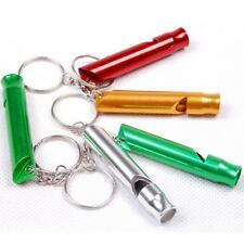 2P Mountain Outdoor Survival Emergency Whistle Aluminum Key  Safety Outdoor  GBM
