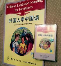 CHINESE LANGUAGE BASICS Audio Cassette + Workbook Chinese Published for English