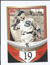 2007 Topps The Streak  JOE DIMAGGIO  GAME 19