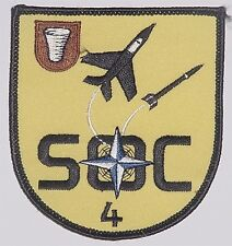 Aufnäher Patch NATO SOC 4 Sector Operations Center 4 .............A4385