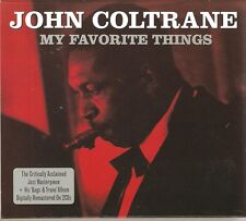JOHN COLTRANE MY FAVORITE THINGS - 2 CD BOX SET - BAGS & TRANE & MORE