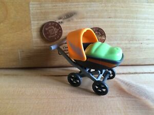 0190 Pushchair /Pram /Stroller - Baby House, Hospital, School Playmobil Spares
