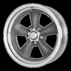 4 orig Felgen American Racing 215 Torq Thrust 7 & 8x16 Dodge Ford Mustang 5x4,5