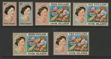 Cook Islands 1974-75 Complete set SG 466-487 Mnh.