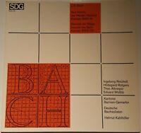 Bach Kantaten BWV 61 & 132 Deutsche Bachsolisten Kahlhöfer SDG Stereo 610 115