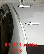 For 2003-2007 CADILLAC CTS CHROME ROOF TOP TRIM MOLDING KIT