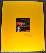 1992 Chevrolet S-10 Blazer Truck Brochure Tahoe LT Sport 4x4 Excellent Original
