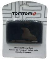 "TomTom 4.3"" & 5.0"" Universal GPS Navigation System Carry Case, Black NEW Sealed"