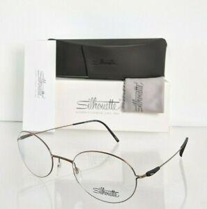 Brand New Authentic Silhouette Eyeglasses SPX 5524 75 6340 Titanium Frame 50mm