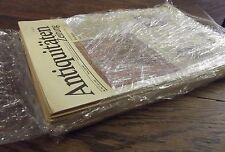 Antiquitätenzeitungen, 14 Stück, 1989