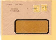 Notstempel/Öhringen BLU not-l1 (tipo B, 19mm) + BL. DAT. - l1 24. dic. 1945
