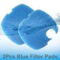 2Pcs Blue Aquarium Replacement Filter Pads Foam Sponge For SUNSUN GRECH Canister