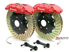 Brembo Front GT Big Brake 4Pot Caliper Red 332x32 Drill Disc for 300zx Z32
