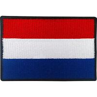 Dutch Flag Patch Iron Sew On Badge Netherlands Holland Football Shirt Applique