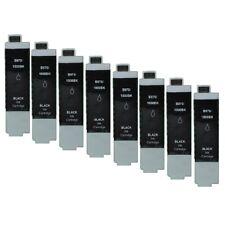 8 Schwarz Druckerpatronen für BROTHER DCP135C DCP150C DCP153C DCP157C  LC1000
