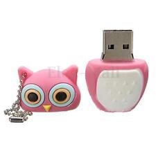 8G GB Pink Owl Model USB 2.0 Flash Memory Stick Storage Thumb U Disk Pen Drive