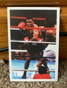 1986 Mike Tyson Rookie Card A Question Of Sport - Mint Condition