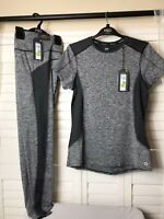 Womens M&S Workout Set Top And Bottoms Uk Size 12 Bnwt Rrp£40